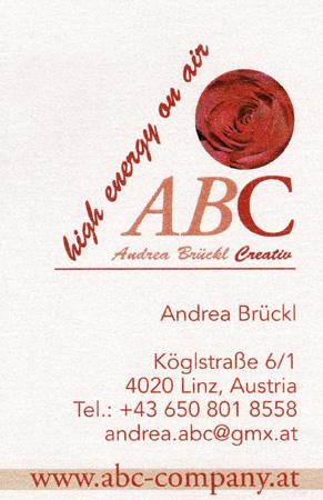 ABC Company - Andrea Brückl - copyright by Werbeagentur www.hassijun.com